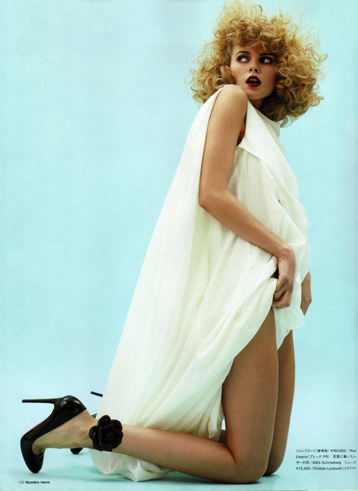 Maryna Linchuk photographed by David Vasiljevic for Numéro Tokyo #34, March 2010 6