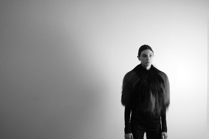 """Documentary: Jacquelyn Jablonski photographed in """"Snow Day"""" by Kevin Tachman for Models.com 8"""
