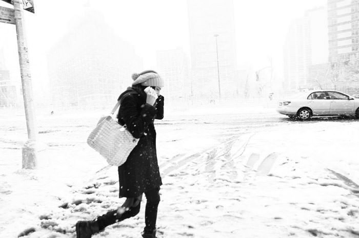 """Documentary: Jacquelyn Jablonski photographed in """"Snow Day"""" by Kevin Tachman for Models.com 11"""