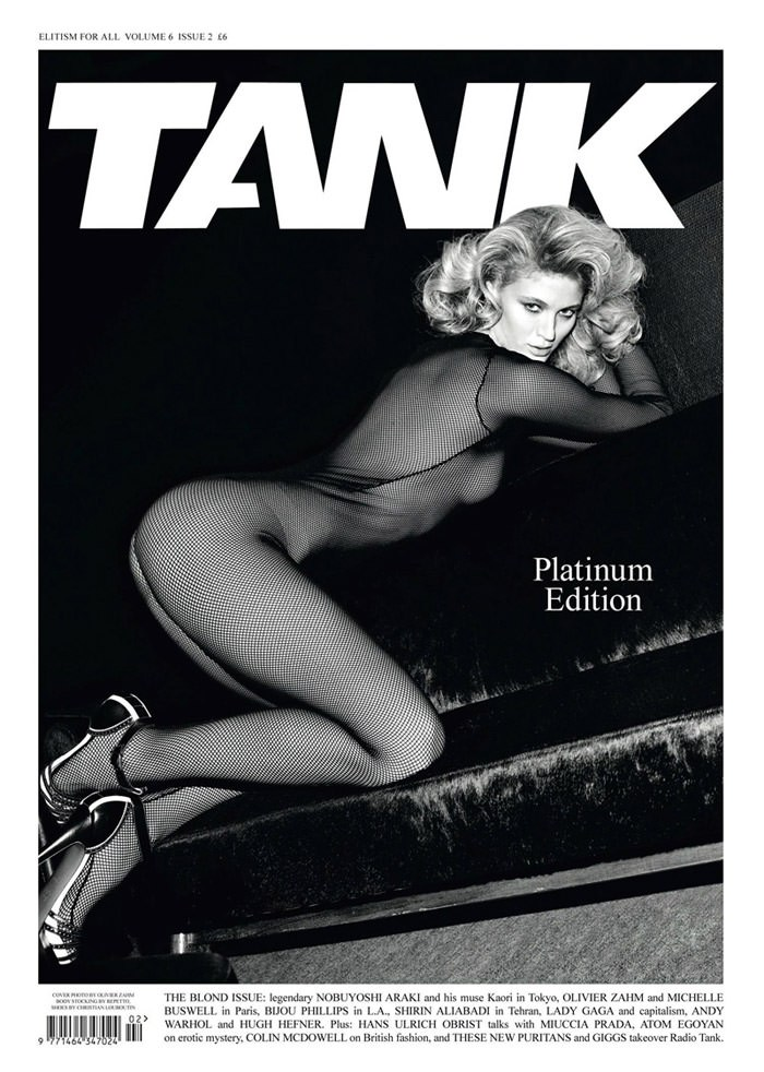 Michelle Buswell photographed by Olivier Zahm for Tank Magazine, Spring & Summer 2010 1