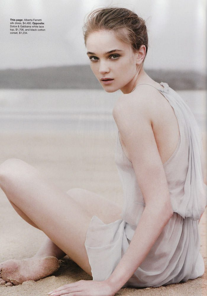"Rosie Tupper photographed by Nicole Bentley in ""Soft Focus"" for Vogue Australia, April 2010 3"