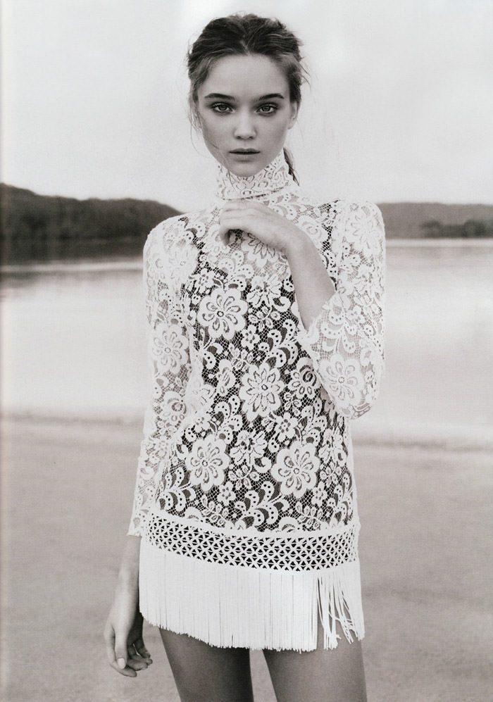 "Rosie Tupper photographed by Nicole Bentley in ""Soft Focus"" for Vogue Australia, April 2010 7"