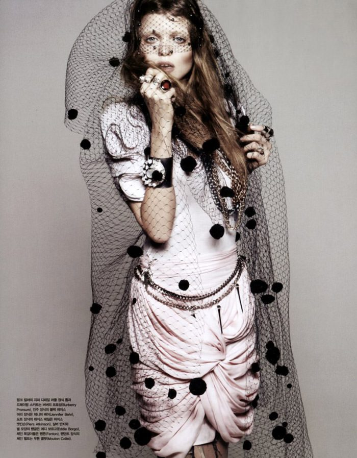 """Abbey Lee Kershaw photographed by Rafael Stahelin in """"Lovely Bones"""" for Vogue Korea, April 2010 3"""