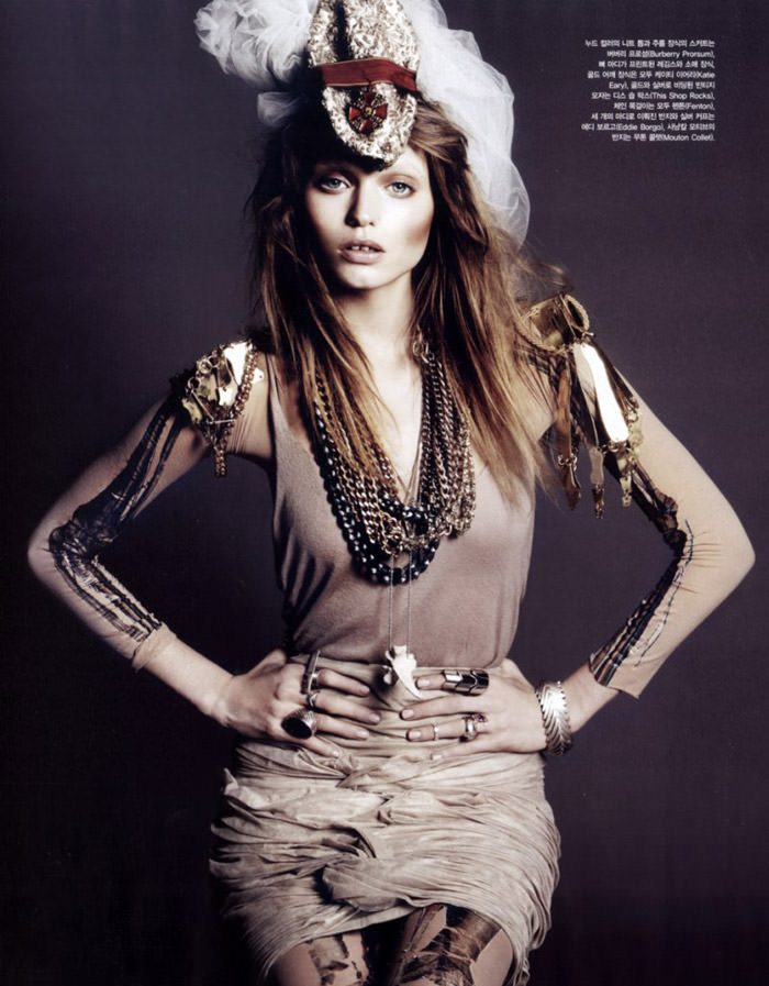 """Abbey Lee Kershaw photographed by Rafael Stahelin in """"Lovely Bones"""" for Vogue Korea, April 2010 9"""