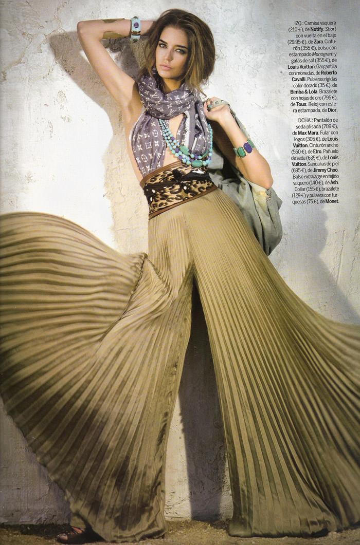 """Clara Alonso photographed by Fernando Bosch in """"Accesorios Dales Un Twist"""" for Elle España, April 2010 6"""