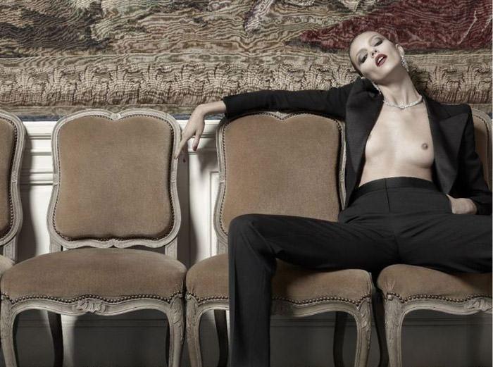 Anja Rubik photographed by Hedi Slimane for Vogue Paris, April 2010 6