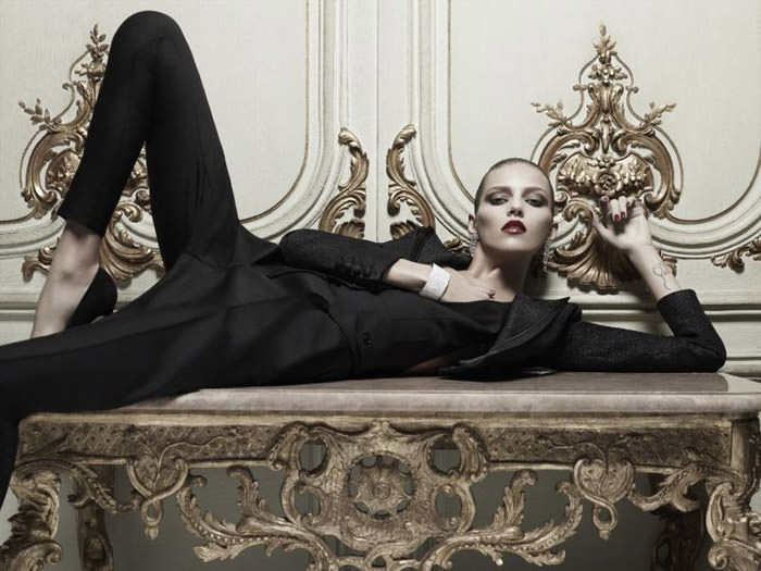 Anja Rubik photographed by Hedi Slimane for Vogue Paris, April 2010 8
