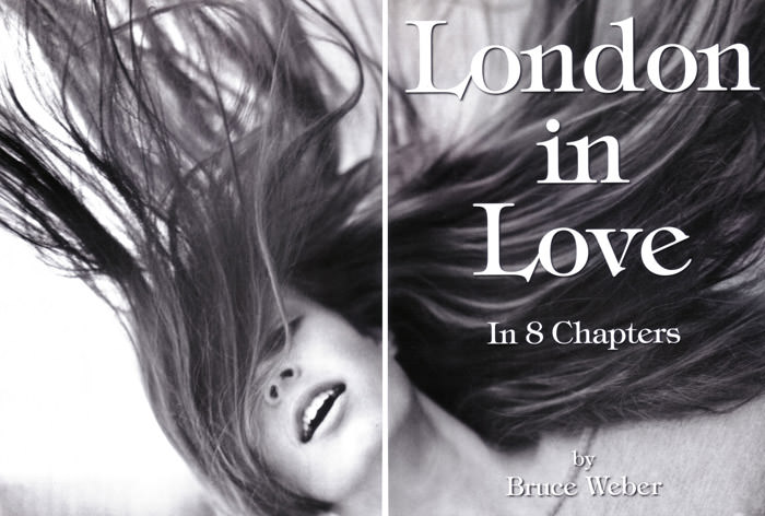 """""""London In Love"""" photographed by Bruce Weber for Vogue Italia, March 2010 1"""