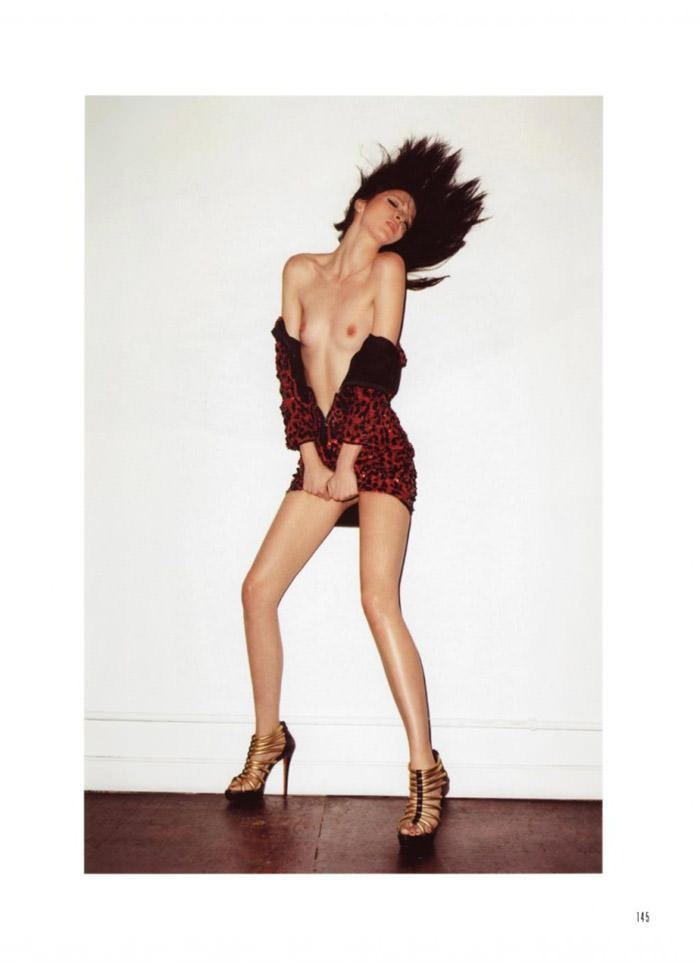 """Mariacarla Boscono photographed by Terry Richardson in """"Top Gear"""" for Muse, Spring 2010 7"""