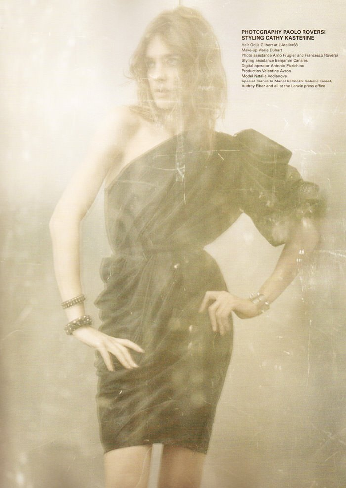 """Natalia Vodianova photographed by Paolo Roversi in """"Heart Is Where Home Is"""" for i-D Magazine, Spring 2010 2"""