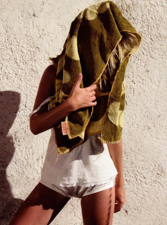 "Tamara Jade photographed by Henrik Purienne in ""Hello"" for Mirage Magazine #2 8"