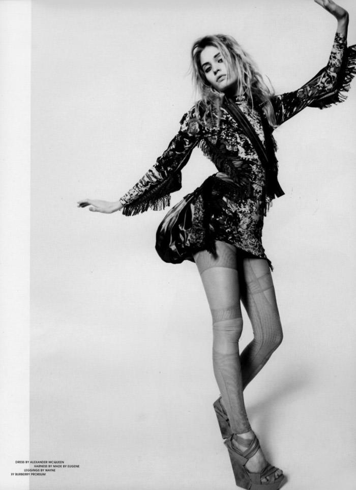 "Heidi Mount photographed by Dan Martensen in ""Miss World"" for Dansk Magazine, Spring 2010 6"