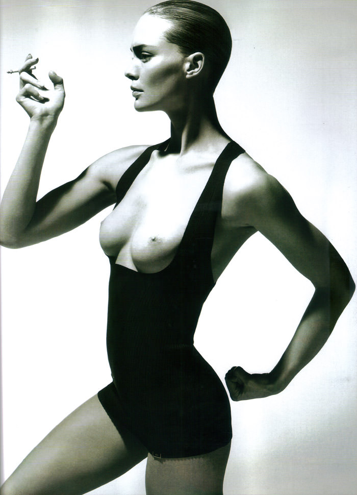 "Heidi Harrington Johnson photographed by Cuneyt Akeroglu in ""Lick Your Tongue"" for Wonderland Magazine, May 2010 9"