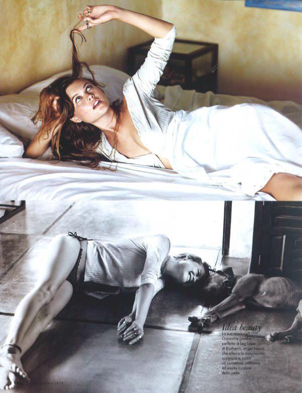 """Behati Prinsloo photographed by Matt Jones in """"Surfin' Costa Rica"""" for Elle Italia, June 2010 15"""