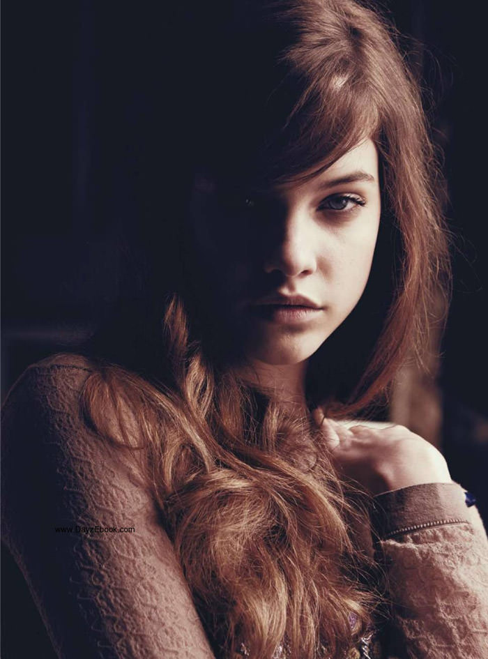 """Barbara Palvin photographed by Paul Schmidt in """"Pop Doll"""" for Jalouse, June 2010 2"""