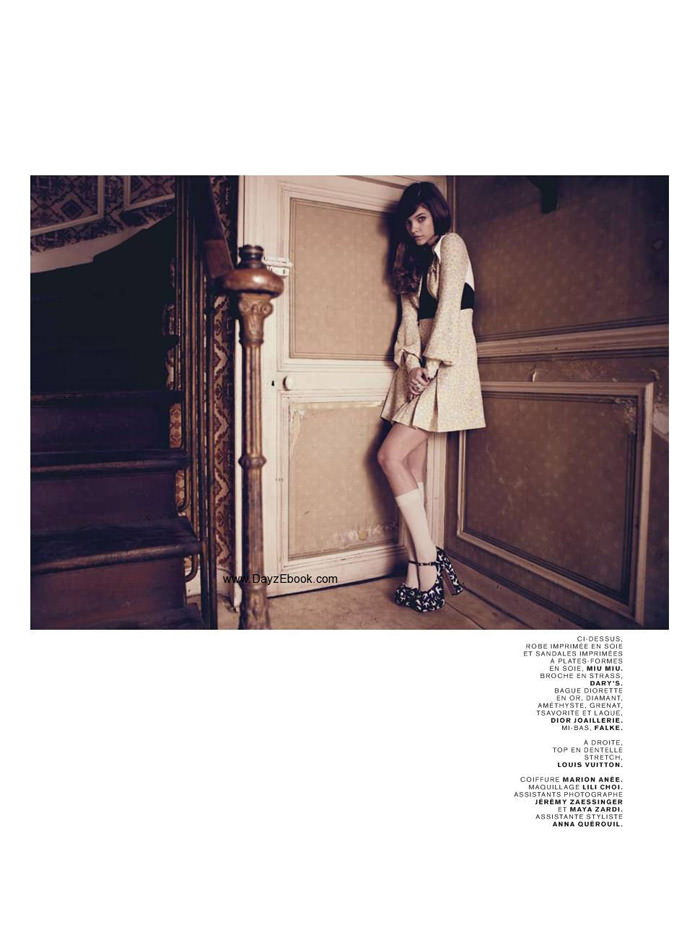 """Barbara Palvin photographed by Paul Schmidt in """"Pop Doll"""" for Jalouse, June 2010 3"""