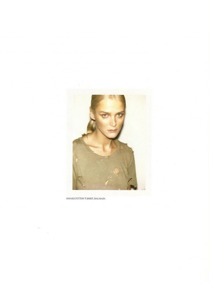 Carmen Kass photographed by Ezra Petronio for Self Service, Spring 2010 10