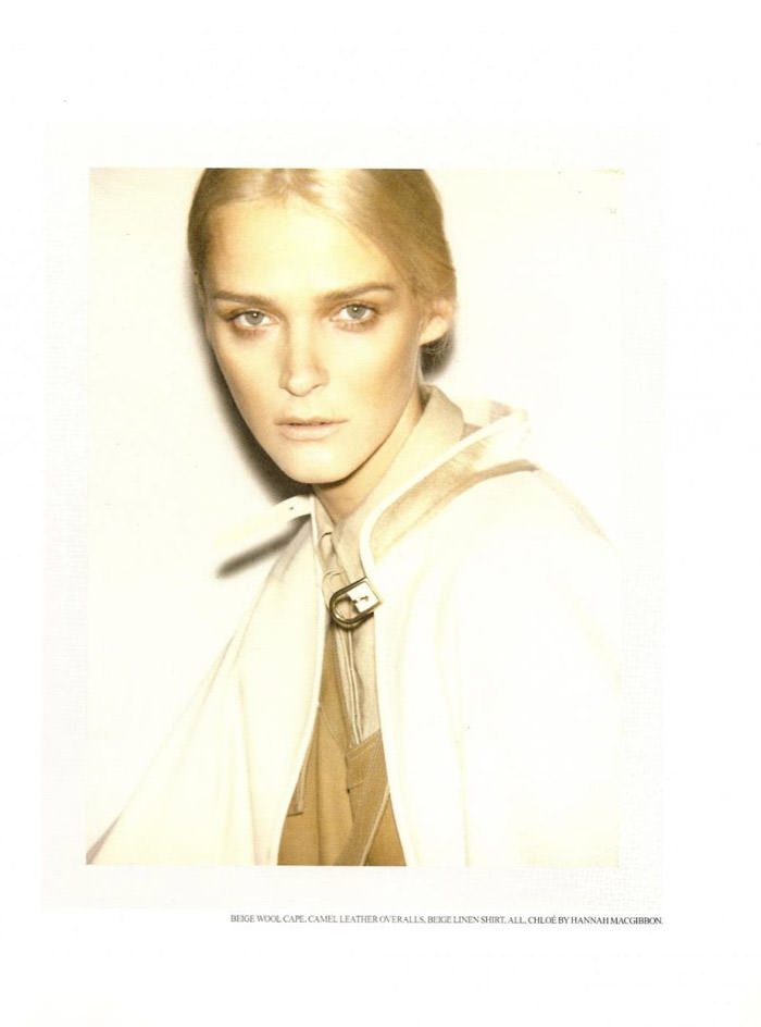 Carmen Kass photographed by Ezra Petronio for Self Service, Spring 2010 2