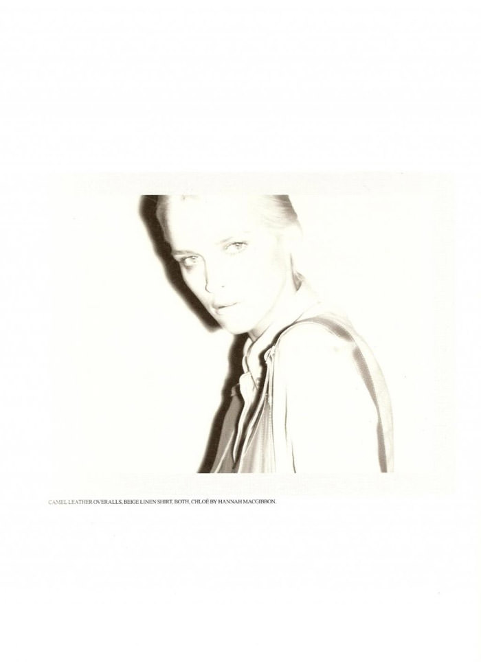 Carmen Kass photographed by Ezra Petronio for Self Service, Spring 2010 8
