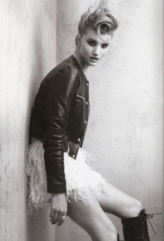 "Rosie Huntington-Whiteley photographed by Victor Dermachelier in ""Etiqueta Negra"" for Vogue España, July 2010 6"