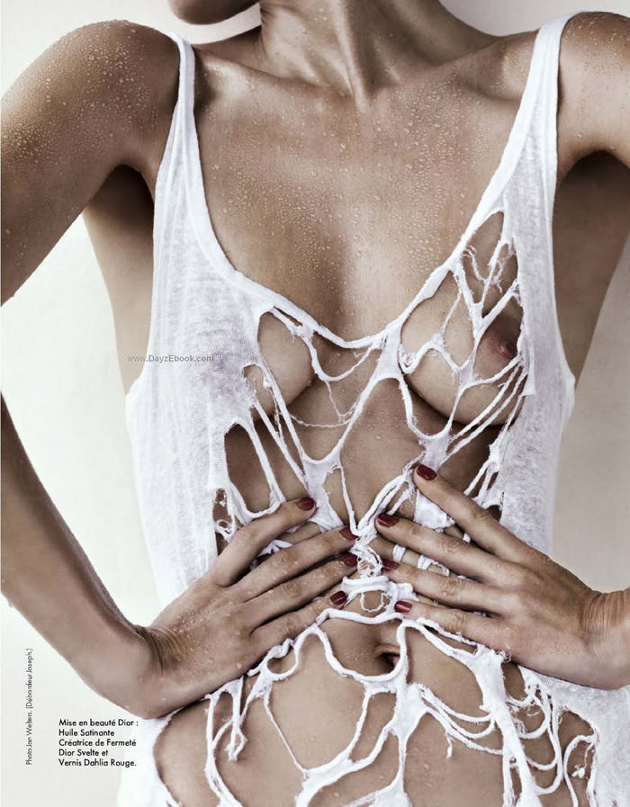 Malgosia Bela photographed by Jan Welters for Elle France, May 2010 4