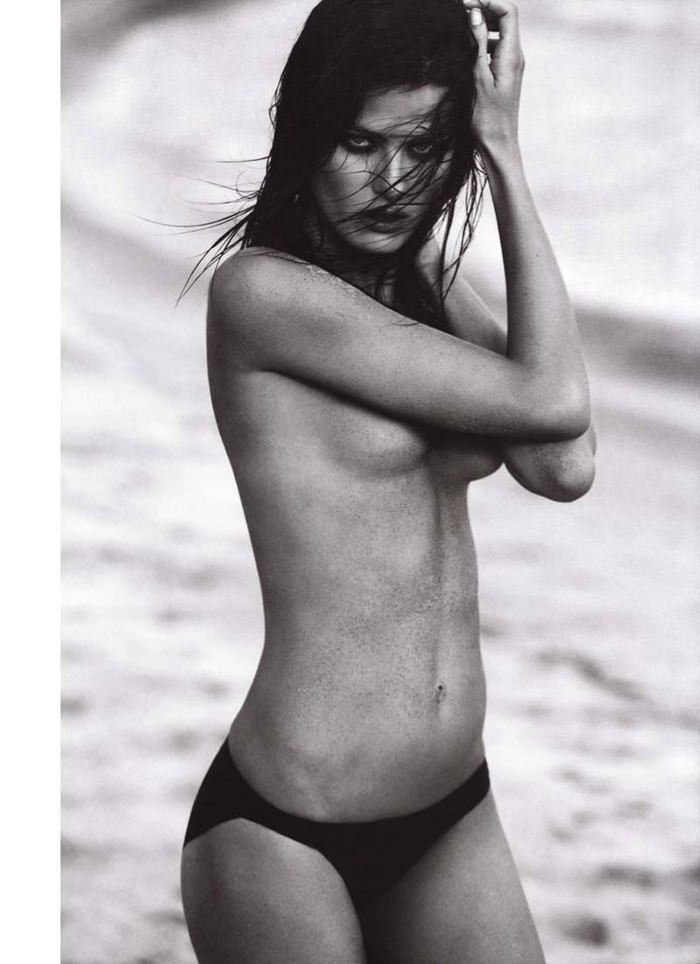 """Isabeli Fontana photographed by Terry Tsiolis in """"Wicked Isabeli"""" for Muse, Summer 2010 5"""