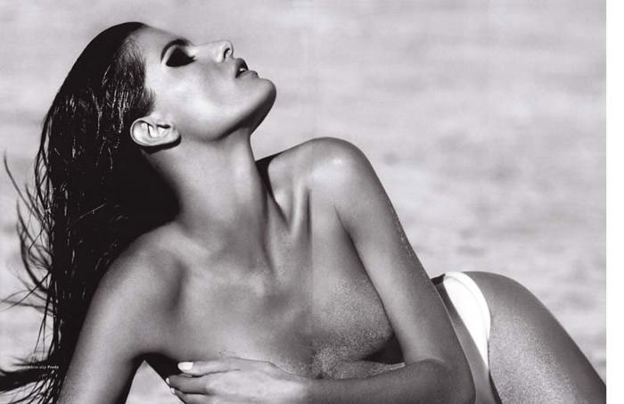 """Isabeli Fontana photographed by Terry Tsiolis in """"Wicked Isabeli"""" for Muse, Summer 2010 7"""
