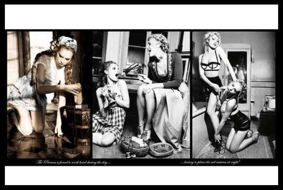A Naughty Fairytale photographed by Ellen von Unwerth for Vs Magazine 7