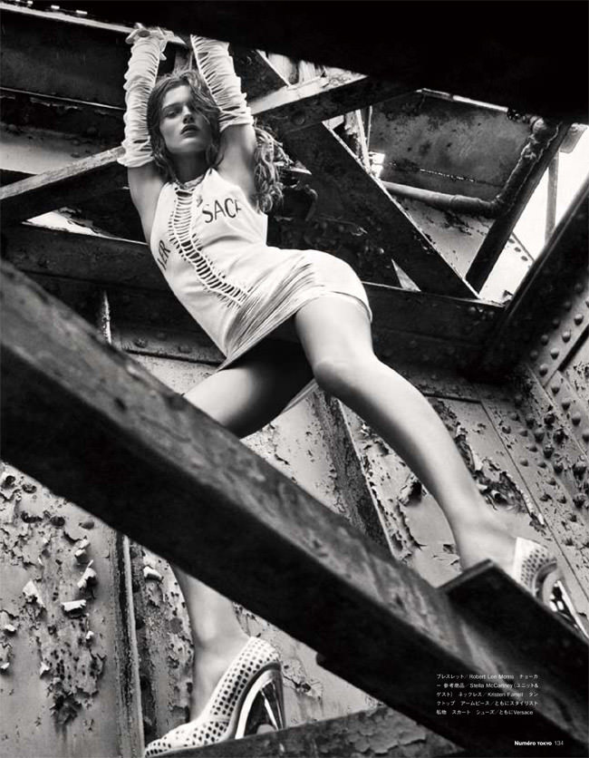 """Edita Vilkeviciute photographed by Sebastian Kim in """"Heat It Up!"""" for Numéro Tokyo, July / August 2010 11"""