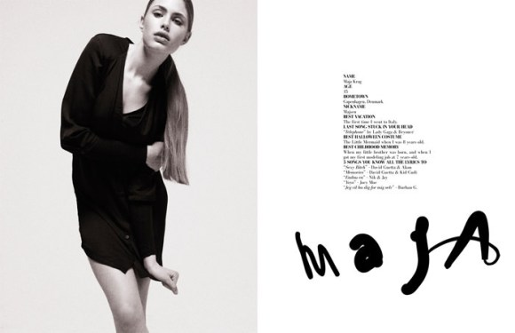 """""""Girl Talk"""" photographed by Jens Langkjær for The Ones 2 Watch 3"""