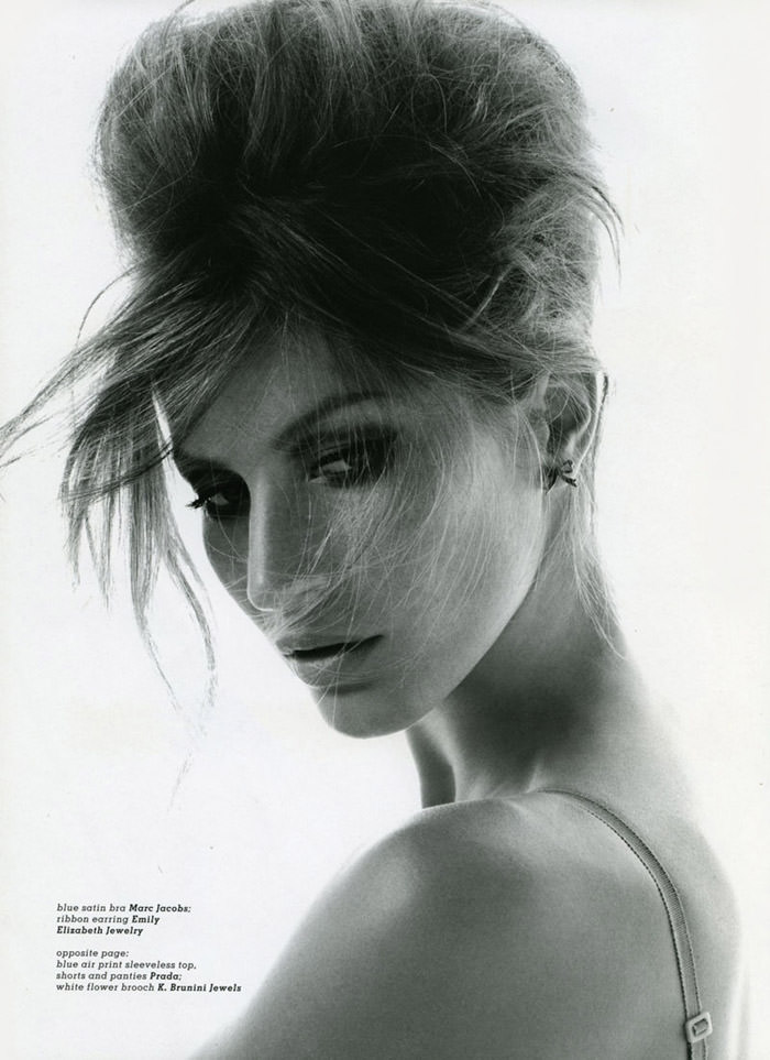 """Gisele Bündchen photographed by Nino Muñoz in """"Earth Angel"""" for Muse, Summer 2010 8"""