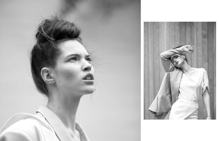 "Jovita Mieliauskienė photographed by Rokas Darulis in ""It's All Around You"" for The Ones 2 Watch 2"
