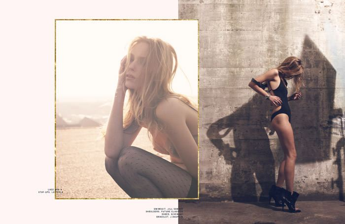 """Zuzanna Krzatala photographed by Sigurd Grünberger in """"Experience"""" for SOKOzine, Anniversary Issue 6"""