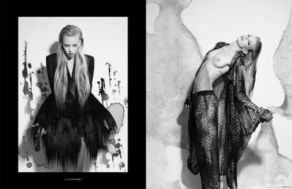 """Dorith Mous photographed by Catherine Conroy in """"The Chameleon"""" for The Ones 2 Watch 2"""