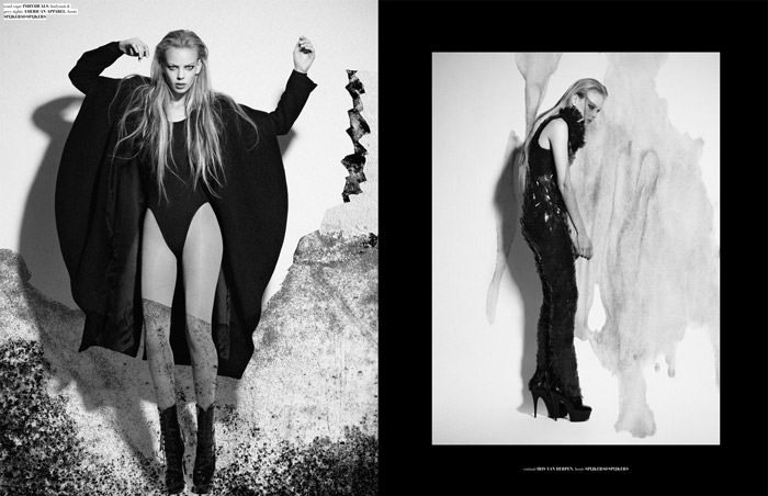 "Dorith Mous photographed by Catherine Conroy in ""The Chameleon"" for The Ones 2 Watch 3"