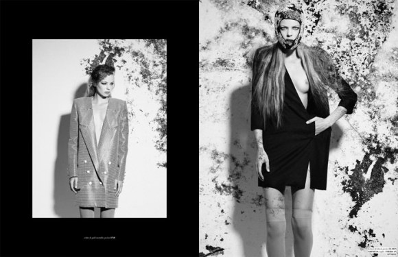 """Dorith Mous photographed by Catherine Conroy in """"The Chameleon"""" for The Ones 2 Watch 4"""