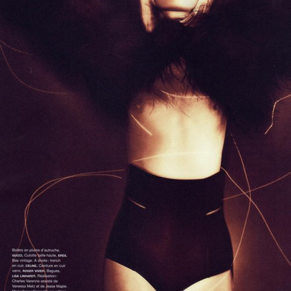 """Heidi Mount photographed by Chad Pitman in """"Hero Just For One Day"""" for Numéro #116, September 2010 1"""