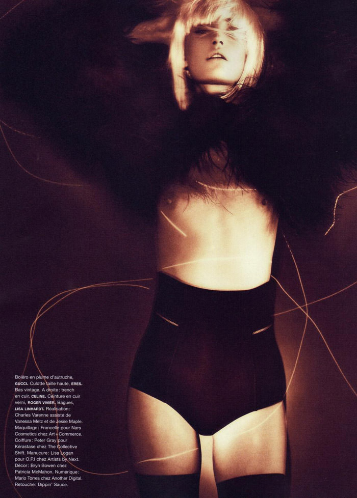 """Heidi Mount photographed by Chad Pitman in """"Hero Just For One Day"""" for Numéro #116, September 2010 11"""