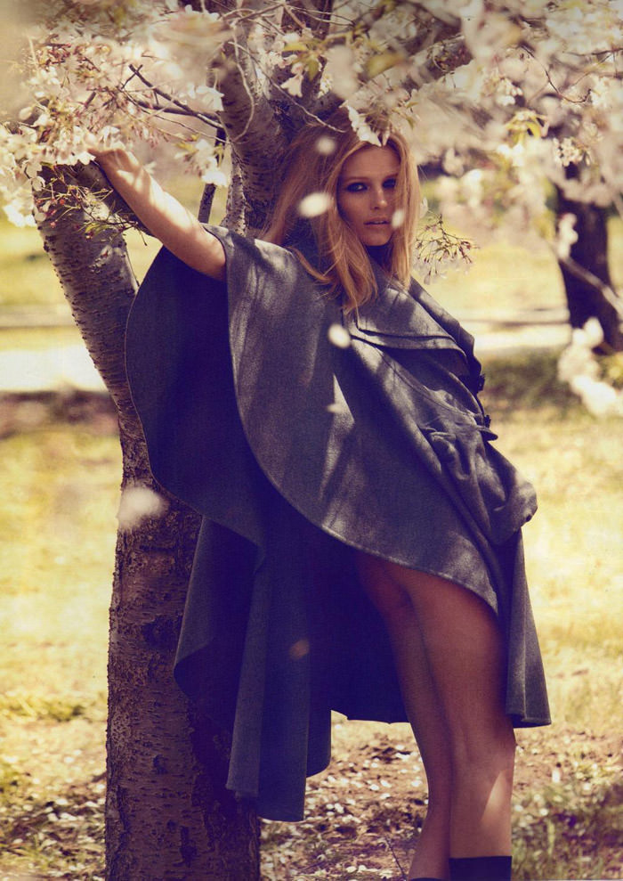 "Edita Vilkeviciute photographed by Camilla Åkrans in ""Divine Idylle"" for Numéro #116, September 2010 4"