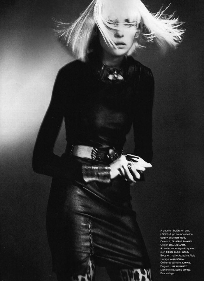"""Heidi Mount photographed by Chad Pitman in """"Hero Just For One Day"""" for Numéro #116, September 2010 8"""