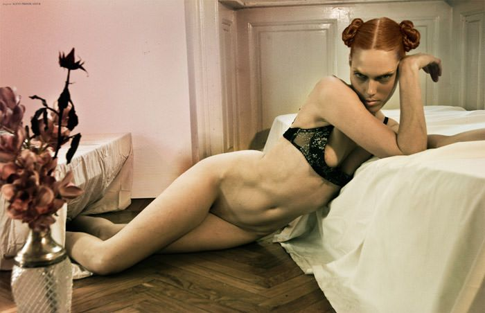 """Caroline Rausch & Kristina Skalova photographed by Oskar Cecere in """"Evelyn"""" for The Ones 2 Watch 2"""