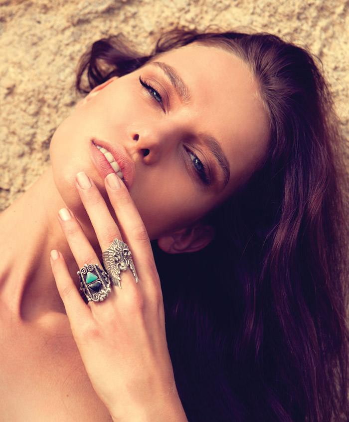 "Masha Rudenko photographed by Robert Sigler in ""Behind the Sun"" for Malibu Magazine 7"