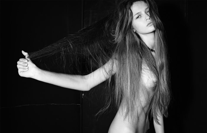 """Kristina Romanova photographed by Eric Guillemain in """"The Longest Night"""" for The Ones 2 Watch 4"""