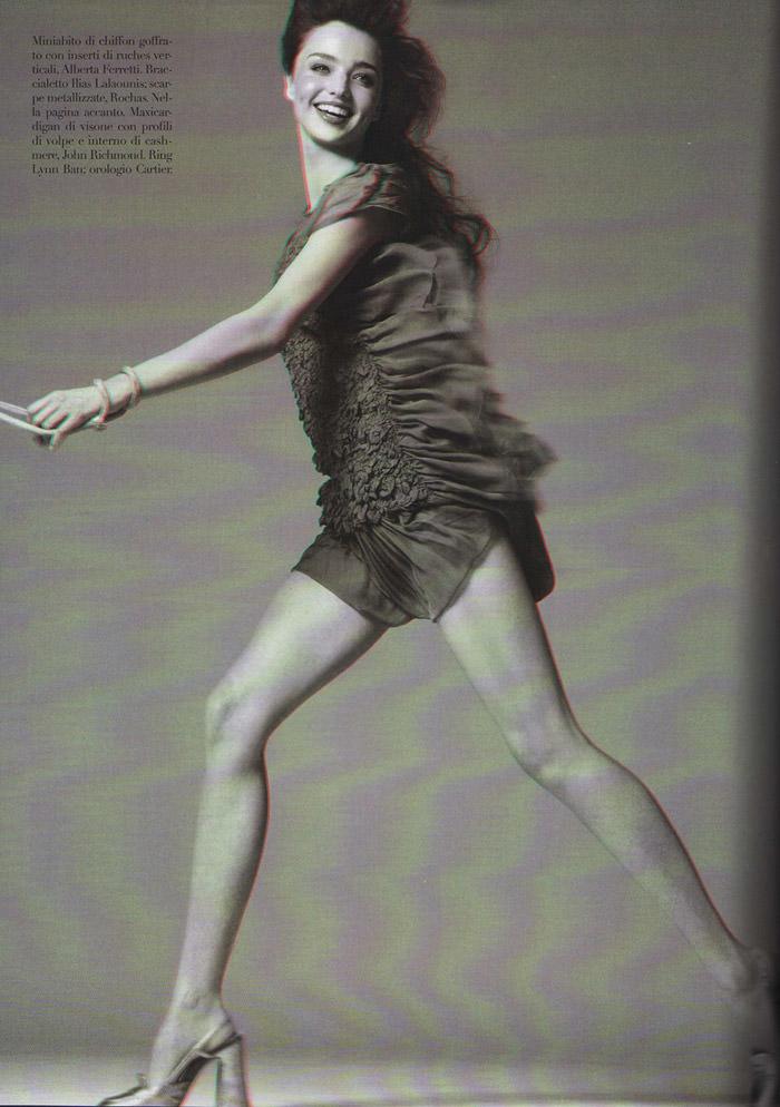 Miranda Kerr photographed by Steven Meisel for Vogue Italia, September 2010 12