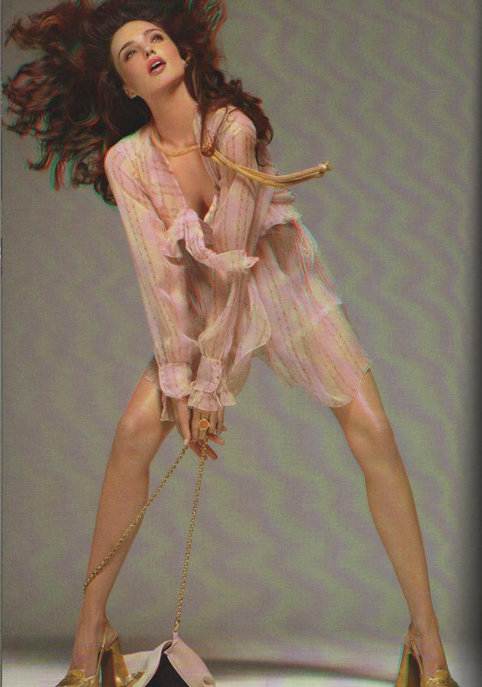 Miranda Kerr photographed by Steven Meisel for Vogue Italia, September 2010 17