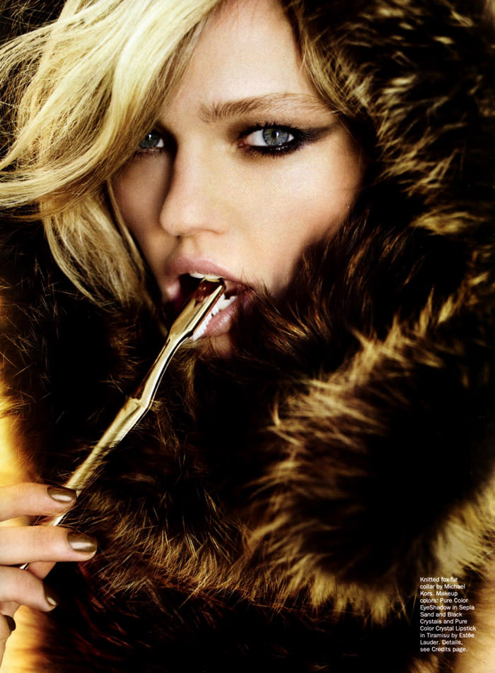 """Sasha Pivovarova photographed by Mario Testino in """"Best Of Beauty"""" for Allure, October 2010 4"""