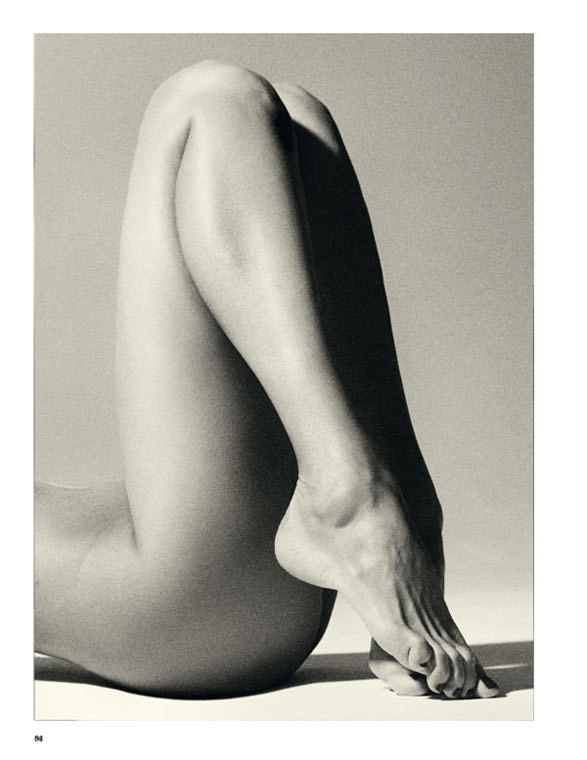 """Martina Valkova photographed by Marcus Ohlsson in """"Twin Peaks"""" for Tush #21 4"""