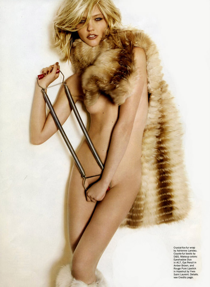 """Sasha Pivovarova photographed by Mario Testino in """"Best Of Beauty"""" for Allure, October 2010 5"""