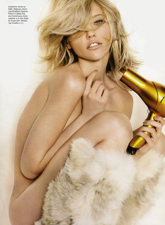 """Sasha Pivovarova photographed by Mario Testino in """"Best Of Beauty"""" for Allure, October 2010 7"""