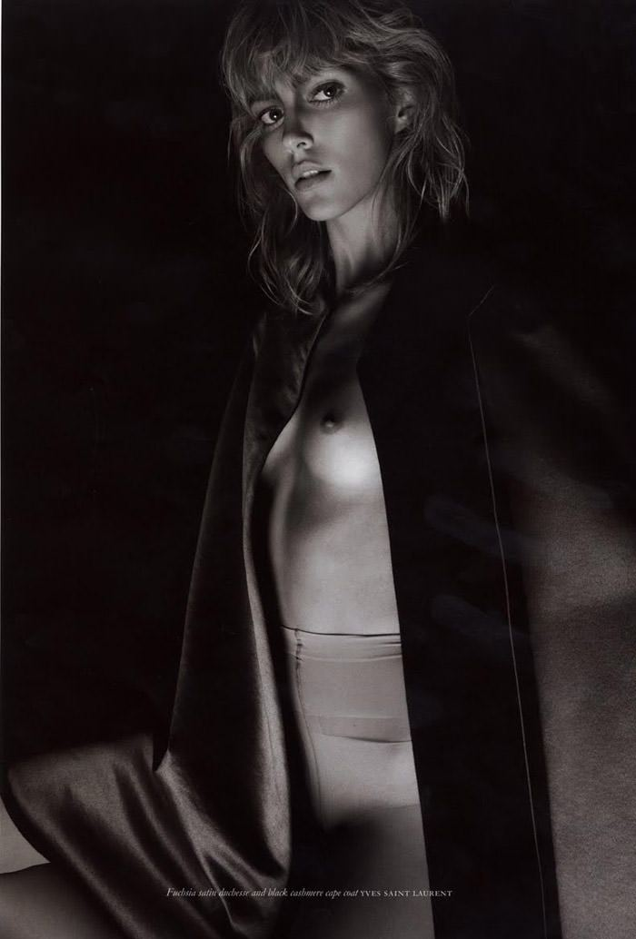 Anja Rubik photographed by Glen Luchford for Purple #14, Fall & Winter 2010 8